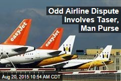 Odd Airline Dispute Involves Taser, Man Purse