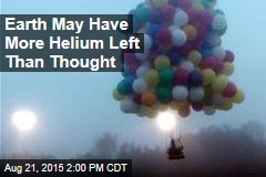 Earth May Have More Helium Left Than Thought