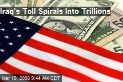 Iraq's Toll Spirals Into Trillions