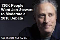 Next Presidential Debate Moderator: Jon Stewart?