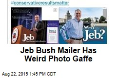Bush Mailer Has Weird Photo Gaffe