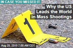 Why the US Leads the World in Mass Shootings