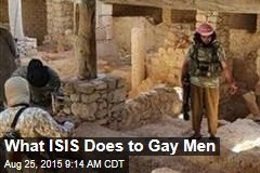 What ISIS Does to Gay Men