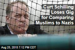 Curt Schilling Loses Gig for Comparing Muslims to Nazis