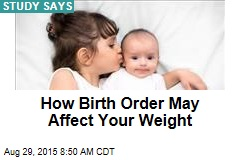 How Birth Order May Affect Your Weight