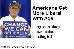 Americans Get More Liberal With Age