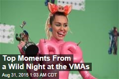 Top Moments From a Wild Night at the VMAs