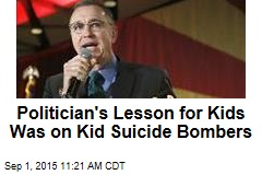 Pol to 2nd-Graders: Let's Talk About Child Suicide Bombers