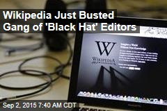 Wikipedia Just Busted Sock Puppet Ring