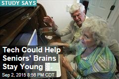 Tech Could Help Seniors' Brains Stay Young