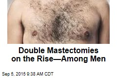 Double Mastectomies on the Rise—Among Men