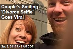 Couple's Smiling 'Divorce Selfie' Goes Viral