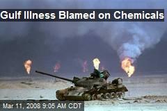 Gulf Illness Blamed on Chemicals