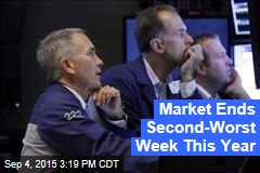 Market Ends Second-Worst Week This Year