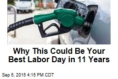 Why This Could Be Your Best Labor Day in 11 Years