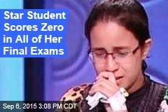 Star Student Scores Zero in All of Her Final Exams