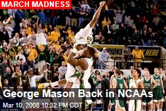 George Mason Back in NCAAs