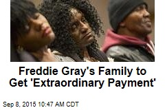 Freddie Gray's Family to Get $6.4M From Baltimore