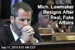 Mich. Lawmaker Resigns After Real, Fake Affairs