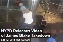 NYPD Releases Video of James Blake Takedown