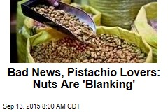 Bad News, Pistachio Lovers: Nuts Are 'Blanking'