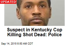 Ky. Manhunt Is on After Cop Gunned Down