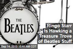 Ringo Starr Is Hawking a Treasure Trove of Beatles Stuff
