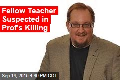 Fellow Teacher Suspected in Professor's Murder