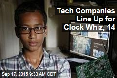 Tech Companies Line Up for Clock Whiz, 14