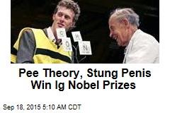 Pee Theory, Stung Penis Win Ig Nobel Prizes