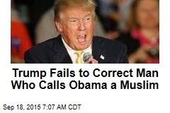 Trump Fails to Correct Birther