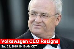 Volkswagen CEO Resigns