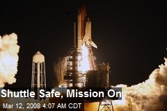 Shuttle Safe, Mission On