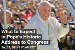 What to Expect in Pope's Address to Congress