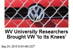 WV University Researchers Brought VW 'to Its Knees'