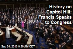 History on Capitol Hill: Francis Speaks to Congress