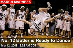 No. 12 Butler is Ready to Dance