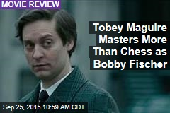Tobey Maguire Masters More Than Chess as Bobby Fischer