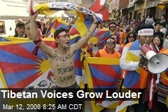Tibetan Voices Grow Louder