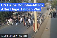 US Strikes Taliban-Held City