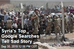 Syria's Top Google Searches Tell Sad Story