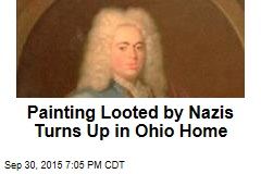 Painting Looted by Nazis Turns Up in Ohio Home