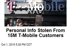 Personal Info Stolen From 15M T-Mobile Customers