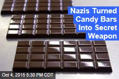 Secret Nazi Weapon: Exploding Candy Bars