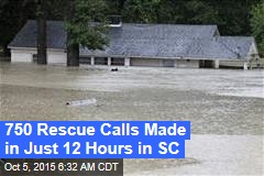 Hundreds Saved From SC Floods