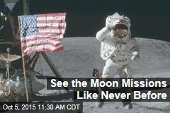 See the Moon Missions Like Never Before