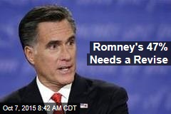Romney's 47% Needs a Revise