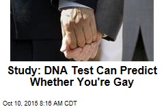 Gene Algorithm May Be Able to Predict If You're Gay