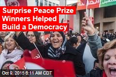 Arab Spring Group Wins Nobel Peace Prize