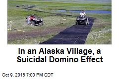 In an Alaska Village, a Suicidal Domino Effect